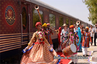 Maharajas Express Welcome